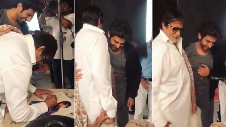 Kartik Aaryan Cannot Keep Calm As Amitabh Bachchan Signs An Autograph For Him (Watch Video)