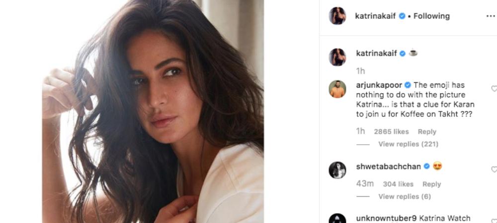 Arjun Kapoor trolls Katrina Kaif again!