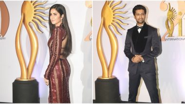 IIFA Rocks 2019 Green Carpet Pics: Katrina Kaif, Vicky Kaushal, Arjun Rampal and Other Bollywood Stars Grace the Show Shining Bright!