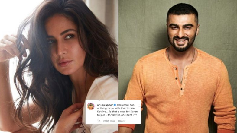 Arjun Kapoor Hilariously Trolls Katrina Kaif on Instagram With His 'Koffee on Takht' Comment and We Can't Stop Laughing!