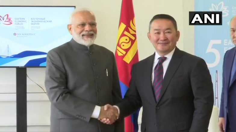 Mongolia President Khaltmaagiin Battulga on 5-Day Visit to India From Sept 19; Focus on Bilateral Ties
