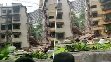 Mumbai Mishap: Portion of 5-Storey Building Collapses in Khar, 10-Year-Old Mahi Motvani Dies