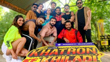 Khatron Ke Khiladi 10: Rohit Shetty Wraps Up Shoot in Bulgaria in His Signature Style (Watch Video)