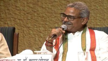 RSS And India Are Synonymous Now, Says Sangh Leader Dr Krishna Gopal Sharma - Watch Video
