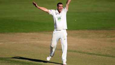 Kyle Abbott Extends Contract With Hampshire, Pacer to Stay With the Team Till 2022