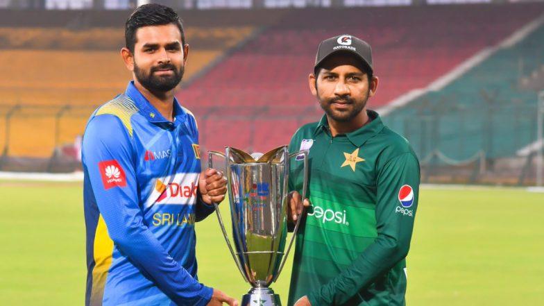 Live Cricket Streaming of Pakistan vs Sri Lanka 1st ODI Match on PTV Sports and Sony Six: Watch Free Telecast and Live Score of PAK vs SL One-Day Series 2019