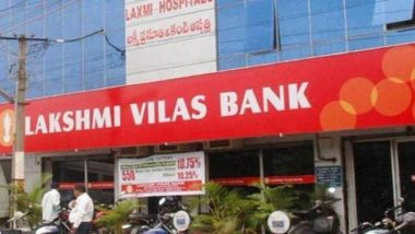 Lakshmi Vilas Bank Shares Tumble After FIR Against Board Members for Cheating and Conspiracy