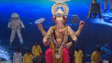 Lalbaugcha Raja 2019 Day 5, September 6, Mukh Darshan Live Streaming: Darshan Timings of Lord Ganesha From Mumbai's Famous Pandal