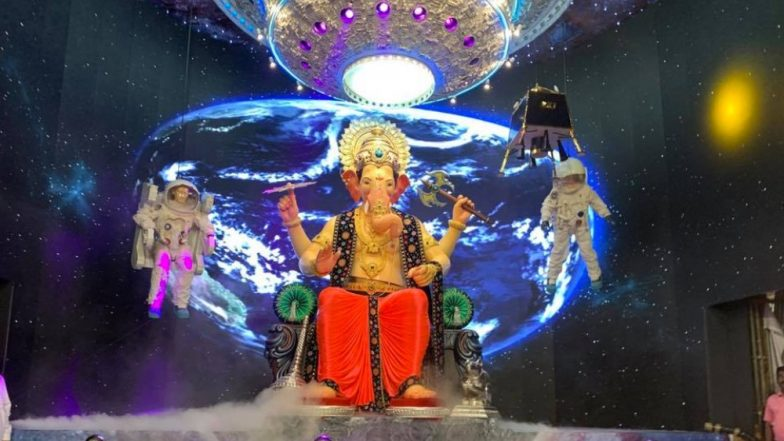 Lalbaugcha Raja Visarjan Sohala 2019 Live Streaming Online on ABP Majha & TV9 Marathi: Watch Last Day Ganpati Aarti, Darshan Followed by Ganesh Immersion Procession in Mumbai
