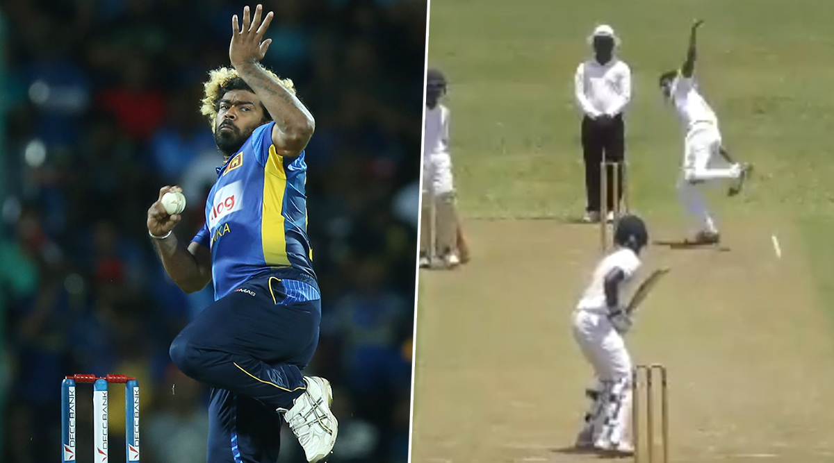 Is Matheesha Pathirana the New Lasith Malinga? This Video Shows Little-Known 17-Year-Old Bowling Just Like Sri Lanka Great | 🏏 LatestLY