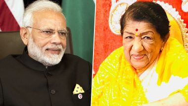 Lata Mangeshkar Responds to PM Modi's Birthday Wish, Says, 'Your Arrival Had Changed India's Image and It Makes Me Very Happy'