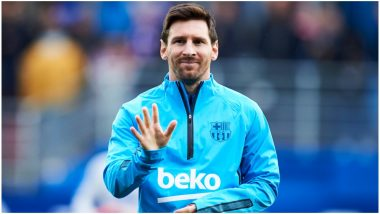 Lionel Messi Makes a Comeback to Barcelona for UEFA Champions League 2019-20; Team to Don New Kits for the Game Against Borussia Dortmund (Watch Video)