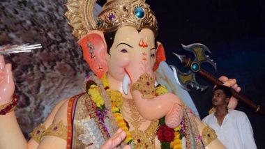Lalbaugcha Raja 2019 Day 10, September 11, Mukh Darshan Live Streaming: Darshan Timings of Lord Ganesha From Mumbai's Famous Pandal