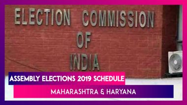 Assembly Elections 2019 Schedule: Maharashtra, Haryana Go To Polls On October 21, Results On Oct 24