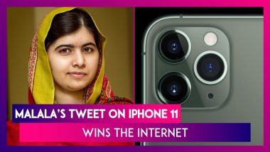 Apple's iPhone 11: Malala's Witty Tweet On The Camera Design Wins The Internet