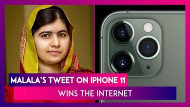 Apple's iPhone 11: Malala's Witty Tweet On The Camera Design Wins The Internet