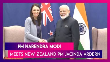 PM Modi Meets New Zealand Counterpart Jacinda Ardern On 74th United Nations General Assembly