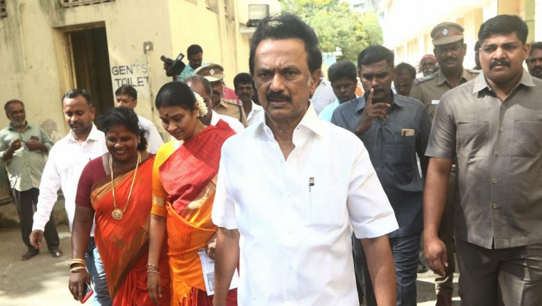 After AIADMK Banner Led to Techie's Death, Stalin Warns DMK Cadre Against Putting Up Hoardings