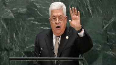 Palestine to Terminate All Deals if Israel Goes Ahead with West Bank's Annexation, Says President Mahmoud Abbas