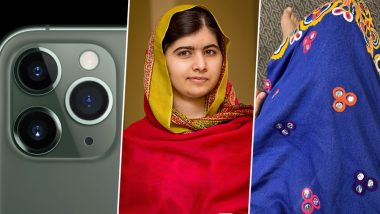 Malala Yousafzai Trolls Apple iPhone 11 Pro Design, Compares the Camera With Her Dress Pattern (Check Funny Tweet)