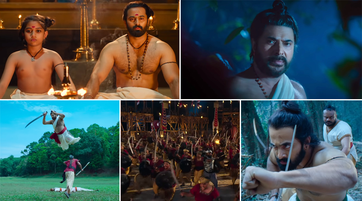Mamangam Teaser: Mammootty Starrer Based on Mamankam Festival Looks Promising and Visually Spectacular (Watch Video)