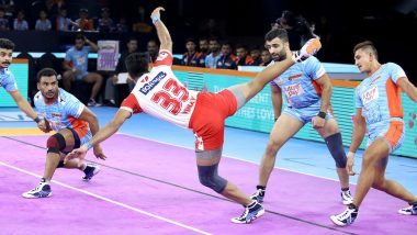 PKL 2019 Match Report: Maninder Singh Shines as Bengal Warriors Beat Haryana Steelers 48-36 at Shree Shiv Chhatrapati Sports Complex