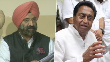 1984-Anti Sikh Riots: Manjinder Singh Sirsa Attacks Congress, Seeks Kamal Nath's Resignation from Madhya Pradesh CM's Post