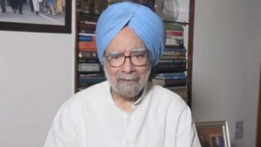 Manmohan Singh Hits Out at Narendra Modi Government After Country's GDP Growth Rate Slows Down