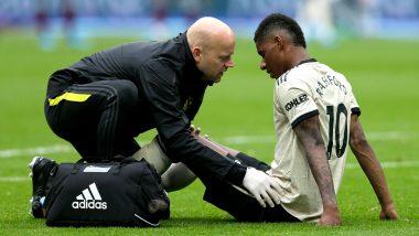 Marcus Rashford Injury Update: Manchester United Striker Set to Miss Arsenal Clash, Might Not Return before International Break