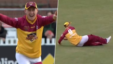 Marnus Labuschagne's Pants Dropping Doesn't Deter Him From Pulling Off a Brilliant Run-Out During Queensland vs Victoria ODI in Marsh Cup 2019 (Watch Hilarious Video)