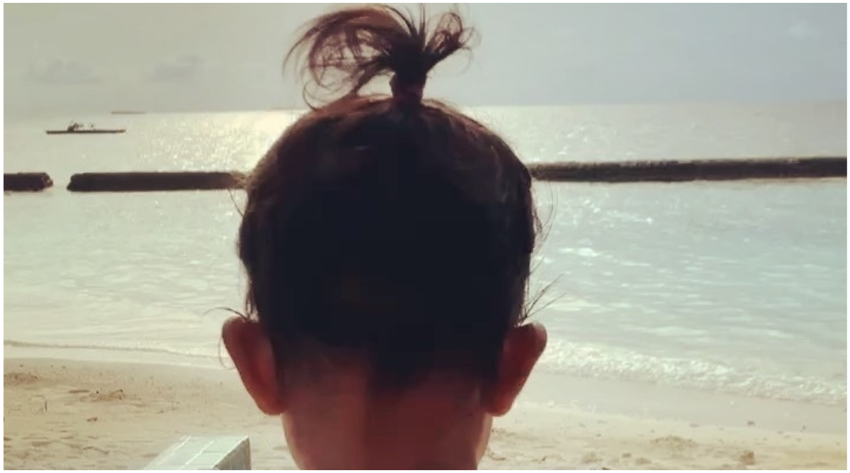 Neha Dhupia Shares Cute Pics of Daughter Mehr and Her Fountain Ponytail Steals the Limelight