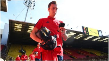 Mesut Ozil Named in Arsenal Playing XI: Delighted Gunners Fans Welcome German's Inclusion for First Time in 2019 English Premier League Season (See Tweets)