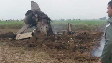 Mig-21 Crashes in Gwalior, Both IAF Pilots Ejected Safely