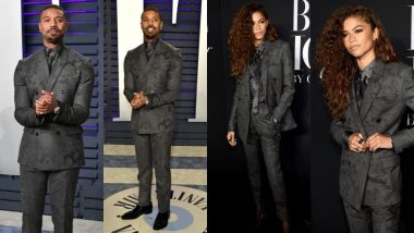 Zendaya Apes Michael B Jordan's Berluti Suit For New York Fashion Week Party And Totally Aces It According To The Actor! View Pics