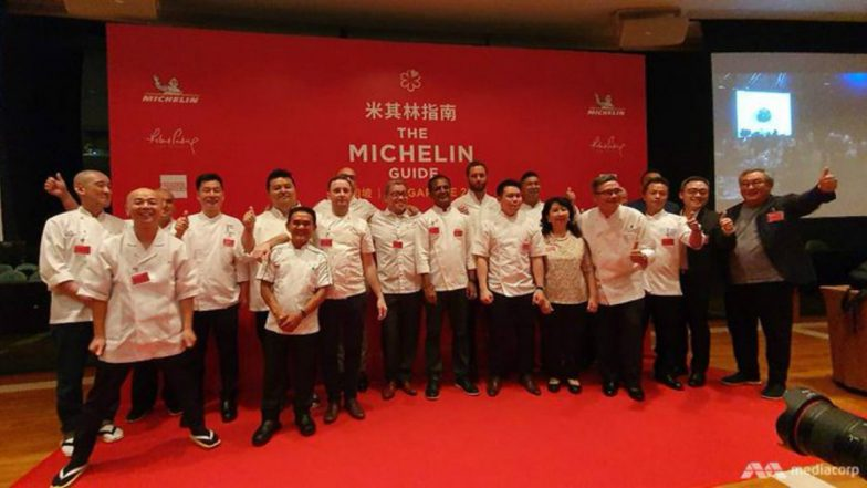 Singapore Restaurants Odette and Les Amis Make History with Three Michelin Stars