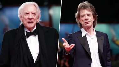 Venice Film Fest 2019: Mick Jagger and Donald Sutherland Blasted on Donald Trump Over Global Climate Change