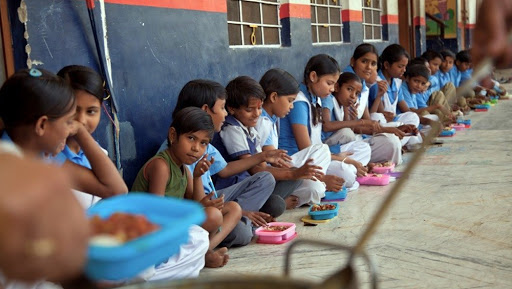 Midday Meal Row: Primary School in West Bengal's Hooghly Serves Children 'Puffed Rice And Fried Snacks'