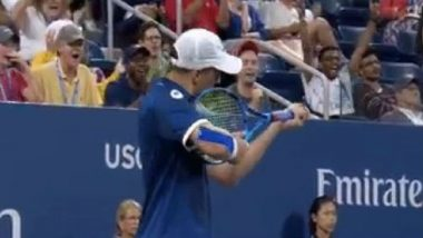 US Open 2019: Mike Bryan Fined $10,000 for Gun Gesture With His Racquet at Line Judge