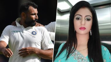 Mohammed Shami's Estranged Wife Hasin Jahan is Grateful to Judicial System For Issuing an Arrest Warrant Against Indian Pacer