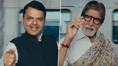 Mumbai Metro: Maharashtra CM Devendra Fadnavis, Amitabh Bachchan Feature in 'Mumbai in Minutes' Video Promoting Metro Line