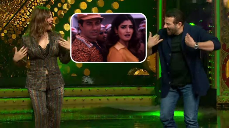 Nach Baliye 9: Raveena Tandon and Sunny Deol Reunite to Dance on Their Hit 90s Song (Watch Video)