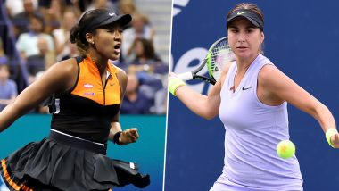 Naomi Osaka vs Belinda Bencic, US Open 2019 Live Streaming & Match Time in IST: Get Telecast & Free Online Stream Details of Round of 16 Tennis Match in India