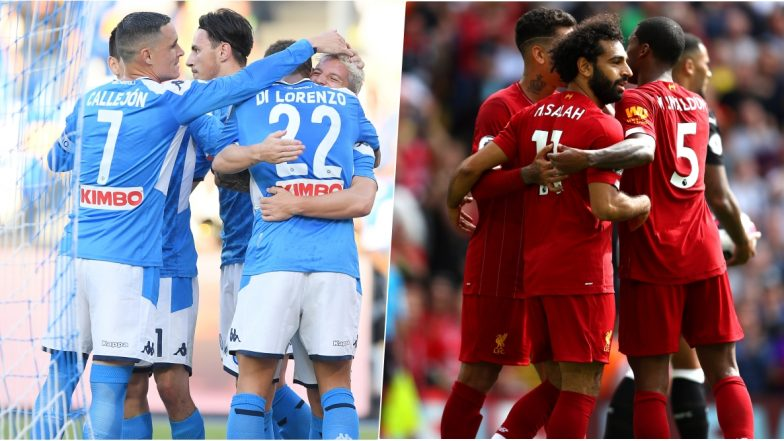 Napoli vs Liverpool, UEFA Champions League Live Streaming Online: Where to Watch CL 2019–20 Group Stage Match Live Telecast on TV & Free Football Score Updates in Indian Time?