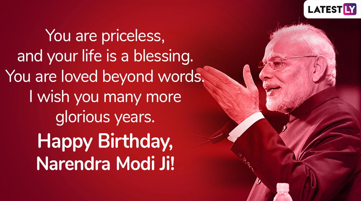 Birthday wish for PM Narendra Modi, Image 4 (Photo Credits: File Image)