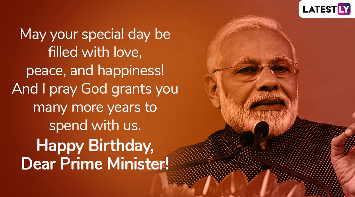 Birthday wish for PM Narendra Modi, Image 5 (Photo Credits: File Image)