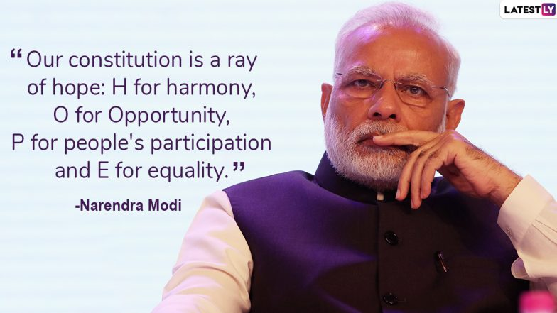 Narendra Modi 69th Birthday Special: 10 Memorable Quotes by the Prime Minister of India
