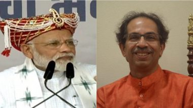 PM Narendra Modi Makes Veiled Attack on Uddhav Thackeray Over Ram Mandir Issue Amid Seat Sharing Tussle Between Shiv Sena And BJP