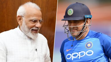 MS Dhoni Gets Second Position in the List of Most Admired Indian Men, PM Narendra Modi at the Top