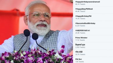 Happy Birthday Narendra Modi Wishes Flood Twitter, Beats Regular Trend of #TuesdayThoughts on PM's 69th Birthday
