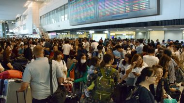 Typhoon Faxai in Japan: Over 100 Flights Cancelled, Nearly 17,000 Passengers Stranded at Tokyo's Narita Airport